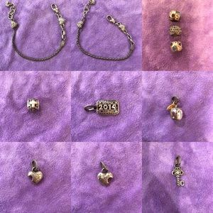 Brighton charms and bracelet